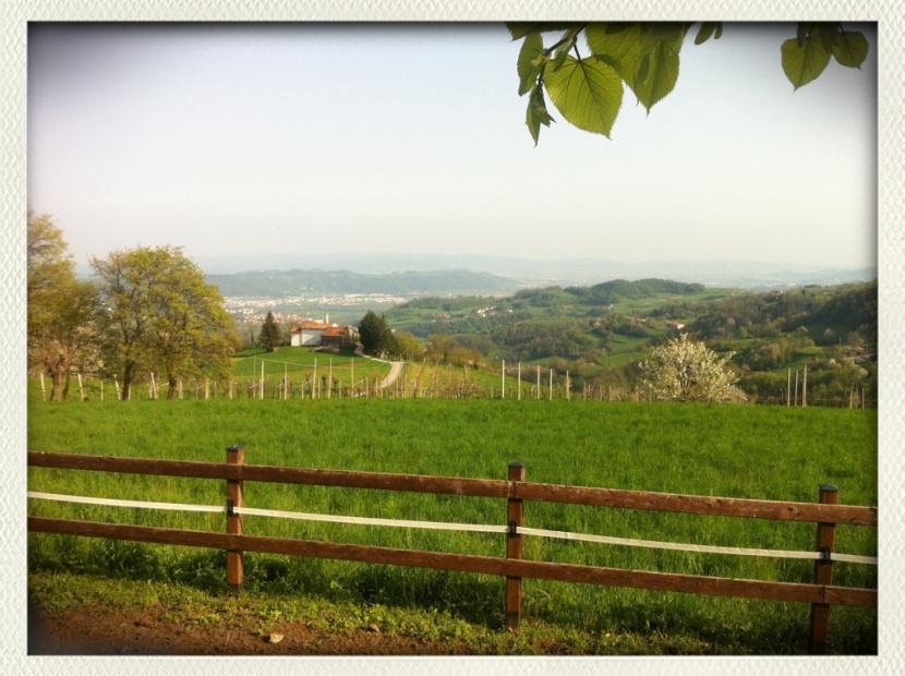 Paesaggio da Brogliano, a Vicenza
