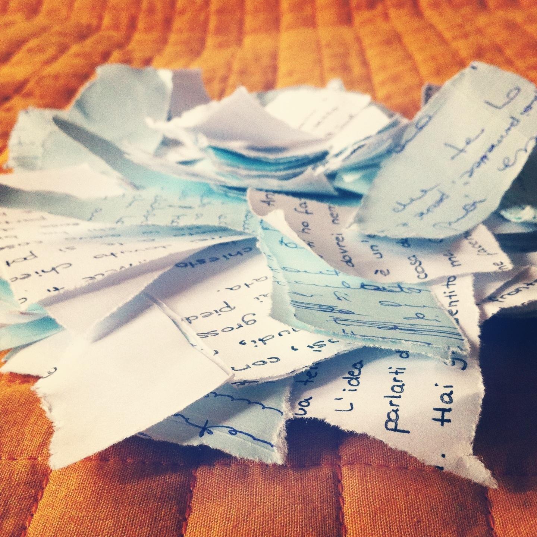 pezzi di carta