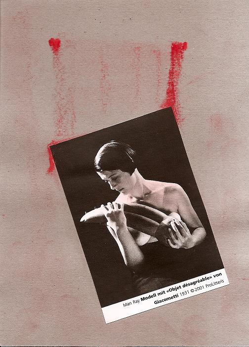 Objeto peligroso - reinterpretazione di Man Ray e Giacometti - by MoyanoSomoya